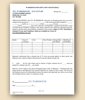 fax form template